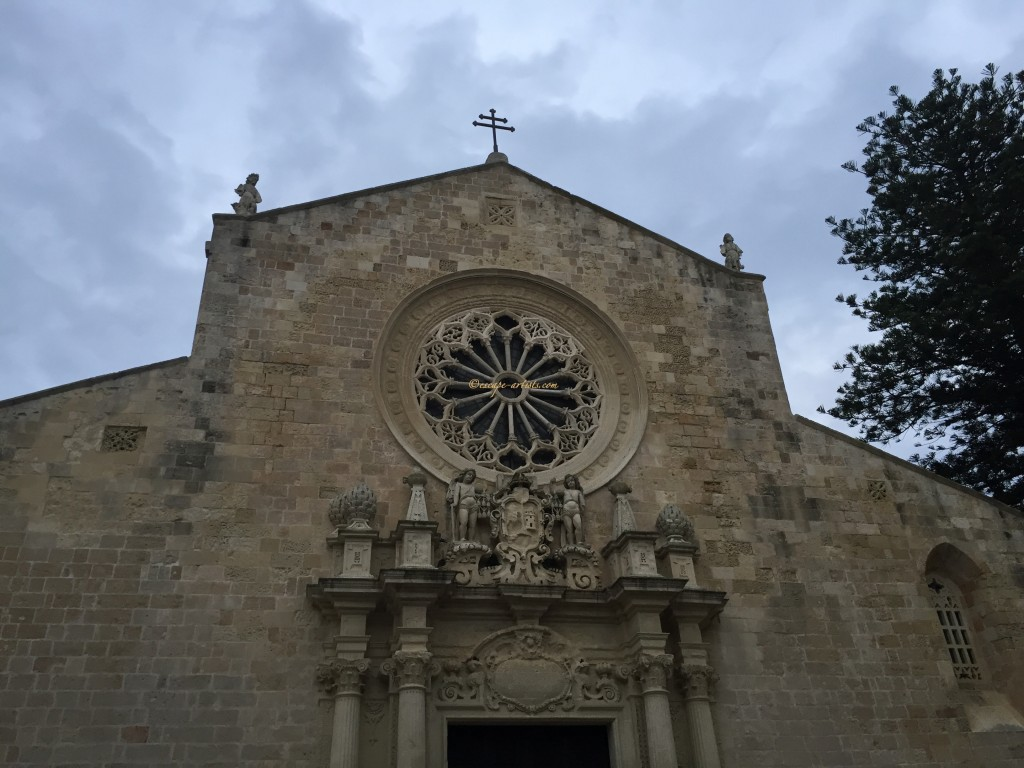 The face of the Cattedrale di Otranto