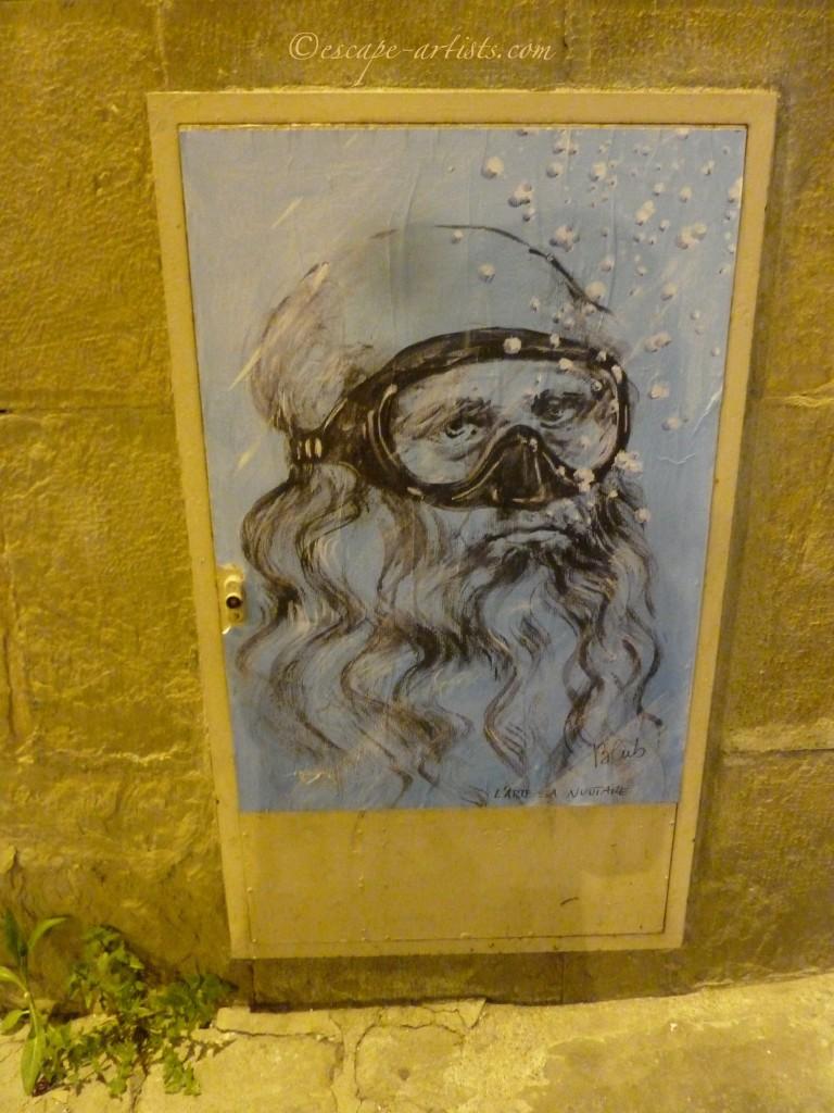 Blub's elated Da Vinci