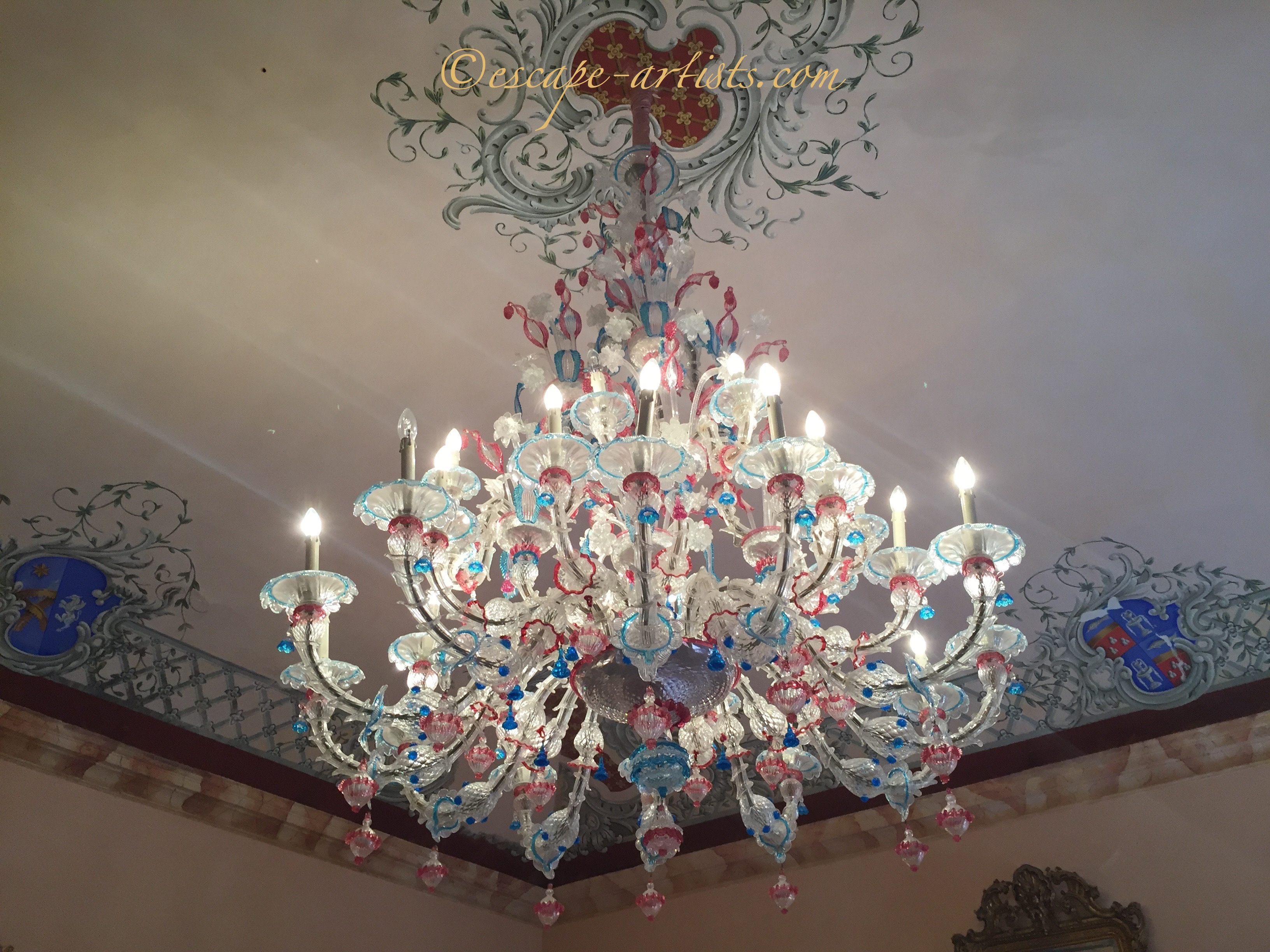 art chandelier additional painting view saatchi missagia claudio image by