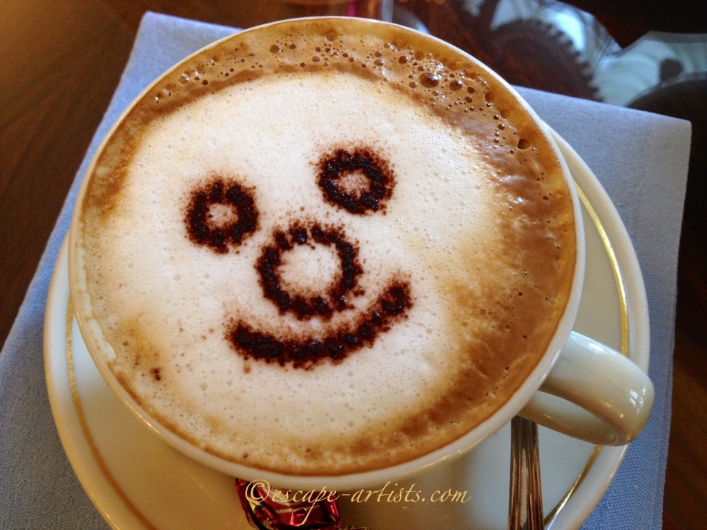 The happiest cappuccino