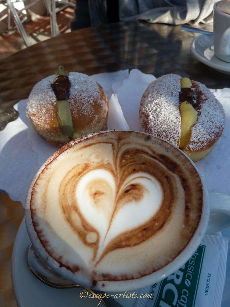 An Italian heart-healthy breakfast