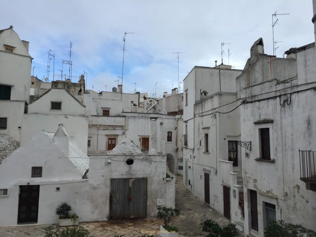 The fantastic white walled city of Martina Franca
