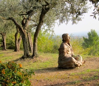 The Meditative Saint Francis.