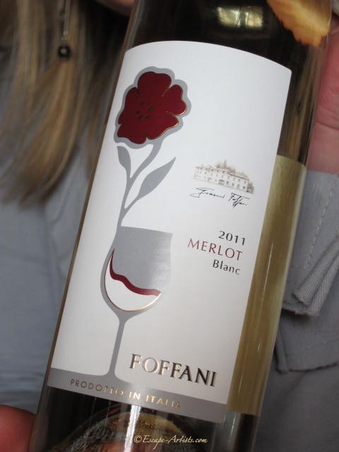 The lovely Foffani White Merlot