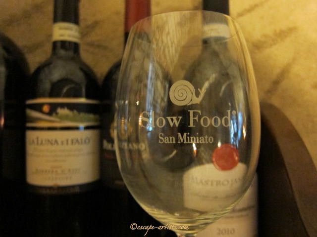 Proud Slow Food Member: San Miniato