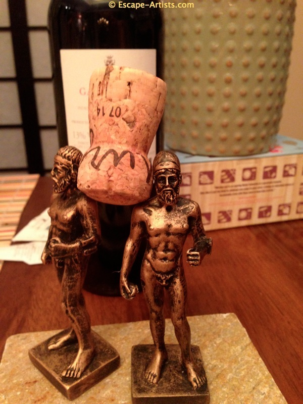 The Riace Bronzes have many talents...