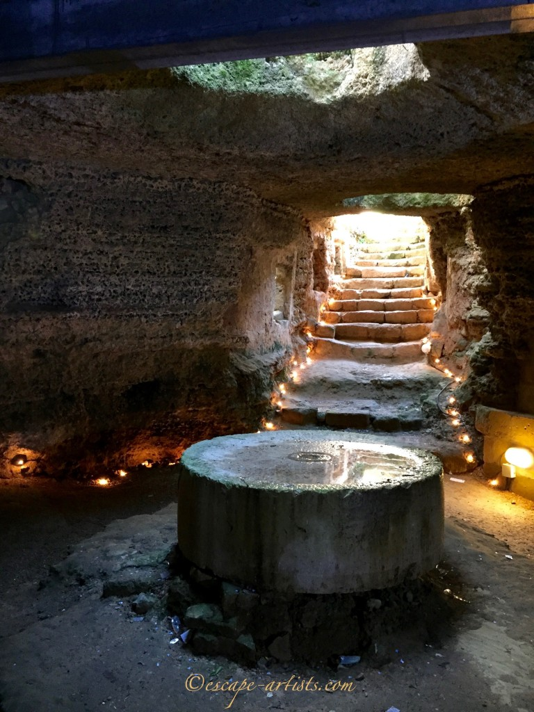 An underground Olive Oil Mill in Presicce